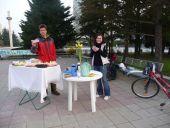 Raňajky pre cyklistov...