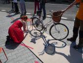 Ako zachytiť bike v životnej veľkosti.