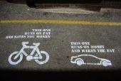 Bicykel vs. auto