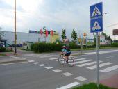 Priechod pre cyklistov, Žilina