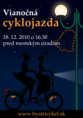 Vianočná cyklojazda 2010