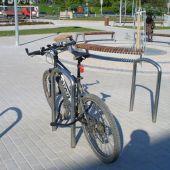 Stojan na bicykle, Praha