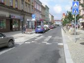 Dopravne upokojená ulica, Tábor